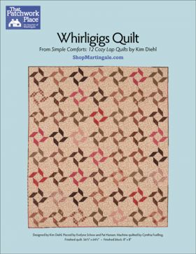 Martingale - Whirligigs Quilt ePattern