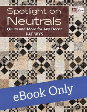 Martingale - Spotlight on Neutrals eBook