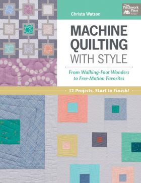 Martingale - Machine Quilting with Style (Print version + eBook bundle)