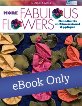 Martingale - More Fabulous Flowers eBook