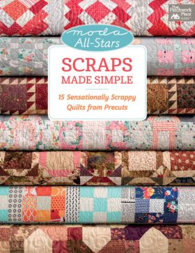 Martingale - Moda All-Stars - Scraps Made Simple (Print version + eBook bundle)
