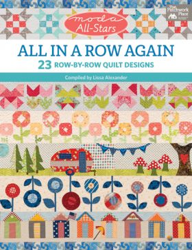 Martingale - Moda All-Stars - All in a Row Again (Print version + eBook bundle)