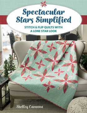 Martingale - Spectacular Stars Simplified (Print version + eBook bundle)