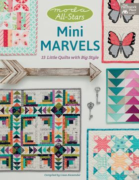 Martingale - Moda All-Stars - Mini Marvels (Print version + eBook bundle)