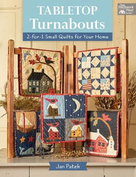 Martingale - Tabletop Turnabouts (Print version + eBook bundle)