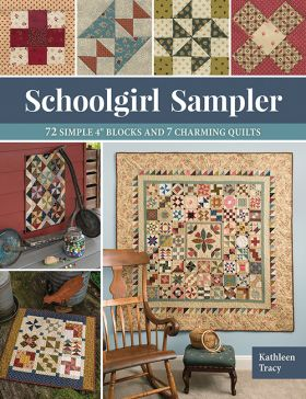 Martingale - Schoolgirl Sampler (Print version + eBook bundle)