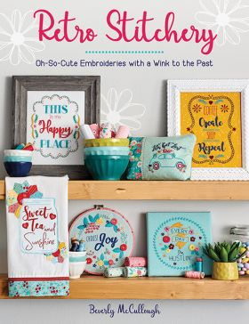 Martingale - Retro Stitchery (Print version + eBook bundle)