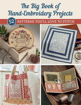 Martingale - The Big Book of Hand-Embroidery Projects