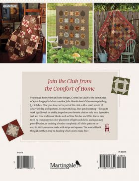 Martingale - County Seat Quilts (Print version + eBook bundle)