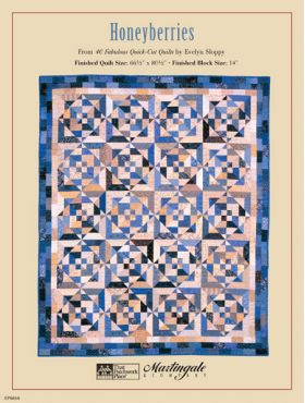 Martingale - Honeyberries Quilt ePattern