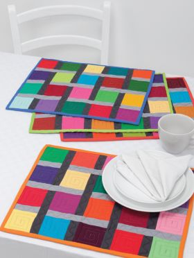 Martingale - Solids, Stripes, Circles, and Squares eBook