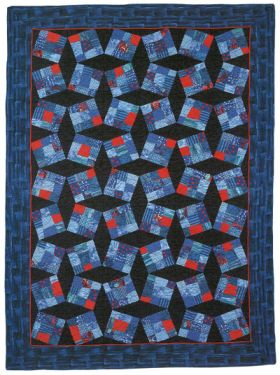 Martingale - Truly Tipsy Nine Patch Quilt ePattern