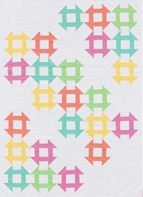 Martingale - Block-Buster Quilts - I Love Churn Dashes eBook