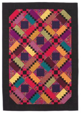 Martingale - Electric Attitude Quilt ePattern
