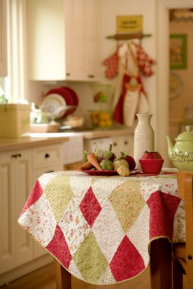 Martingale - A 1950's Summer Tablecloth ePattern