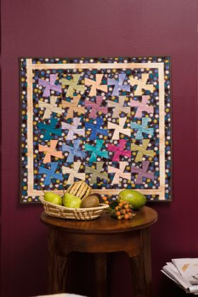 Martingale - Pinwheel Charm Wall Quilt ePattern