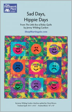 Martingale - Sad Days, Hippie Days Quilt ePattern