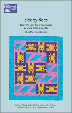 Martingale - Sleepy Bees Quilt ePattern