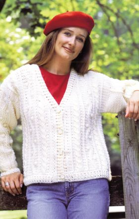 Martingale - Crocheted Aran Sweaters eBook