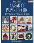 Martingale - A Year of Paper Piecing (Print version + eBook bundle)