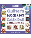 Martingale - Quilter's Block-a-Day Calendar Companion CD