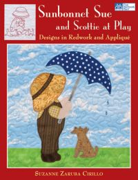 Martingale - Sunbonnet Sue and Scottie at Play (Print version + eBook bundle)
