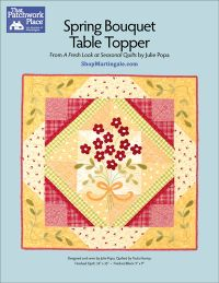 Martingale - Spring Bouquet Table Topper ePattern