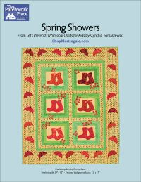 Martingale - Spring Showers Quilt ePattern