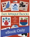 Martingale - Easy Appliqué Blocks eBook eBook