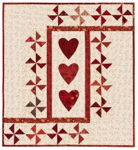 Three of Hearts quilt ePattern