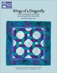 Martingale - Wings of a Dragonfly Quilt ePattern