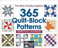 365 Quilt Block Patterns Perpetual Calendar: The Best of Judy Hopkins