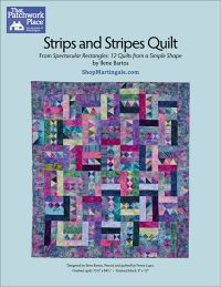 Martingale - Strips and Stripes Quilt ePattern