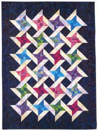 Interlocking Friendship quilt