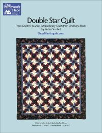 Martingale - Double Star Quilt ePattern
