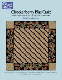Martingale - Checkerberry Bliss Quilt ePattern