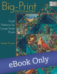 Martingale - Big-Print Patchwork eBook