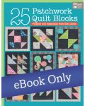 Martingale - 25 Patchwork Quilt Blocks eBook