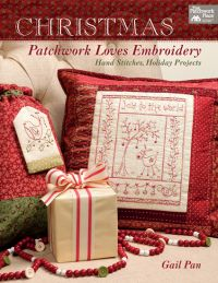Martingale - Christmas Patchwork Loves Embroidery (Print version + eBook bundle)