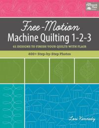 Martingale - Free-Motion Machine Quilting 1-2-3 (Print version + eBook bundle)