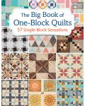 Martingale - The Big Book of One-Block Quilts (Print version + eBook bundle)