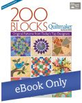 Martingale - 200 Blocks from Quiltmaker Magazine eBook