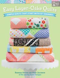 Martingale - Easy Layer-Cake Quilts (Print version + eBook bundle)
